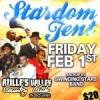 Stardom Tent Friday Feb 1st at Azille&#8217;s