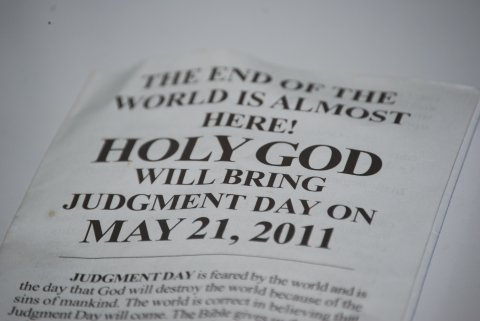 is may 21 judgement day. This World is Going to END MAY